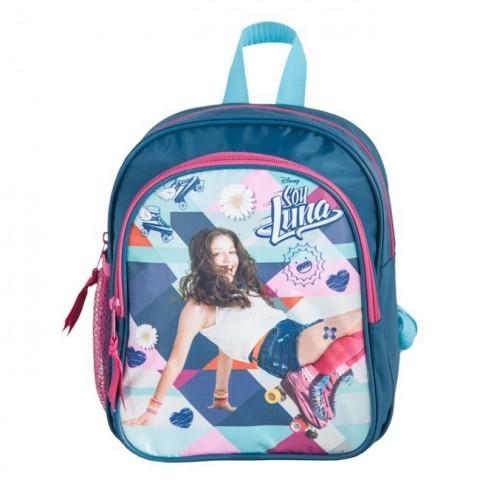 Plecak przedszkolny Soy Luna - niebiesko-różowy