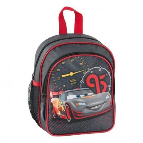 Plecak przedszkolny Cars McQueen - szaro-czarny