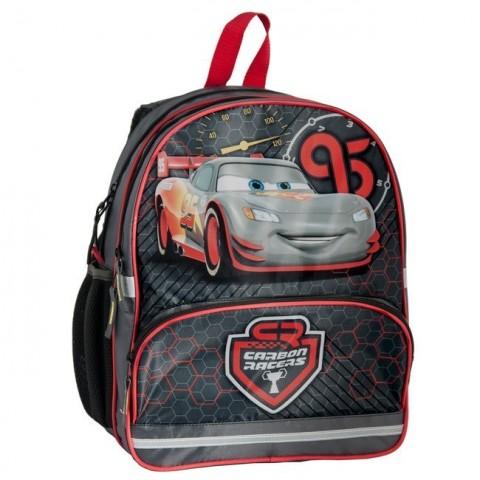 Plecak szkolny Cars McQueen - szaro-czarny