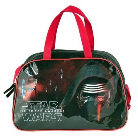 Torba sportowa Star Wars - czarno-czerwony