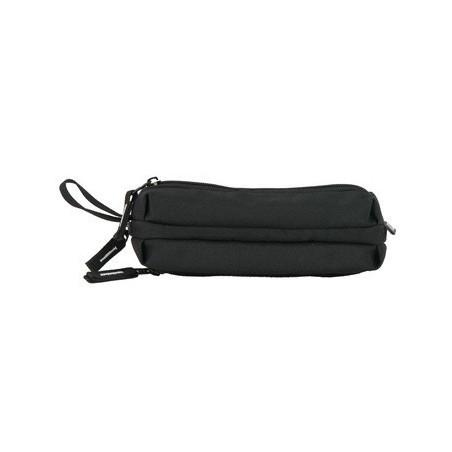 Piórnik potrójny / saszetka bez wyposażenia Paso Black kolo czarny