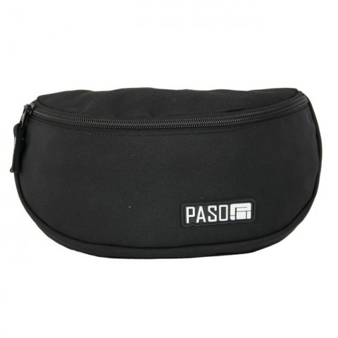 Saszetka na pas / nerka Paso Unique Black kolor czarny