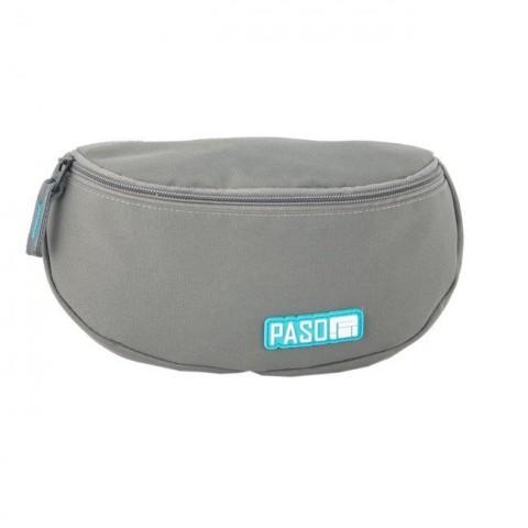 Saszetka na pas / nerka Paso Unique Grey kolor szary