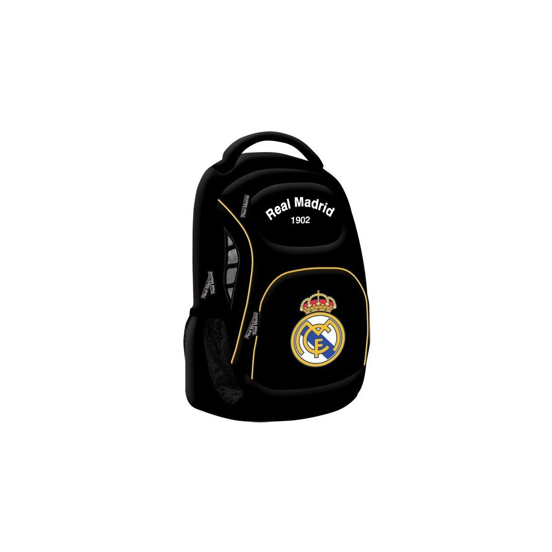 Plecak Real Madryt Czarny C1 - plecak-tornister.pl