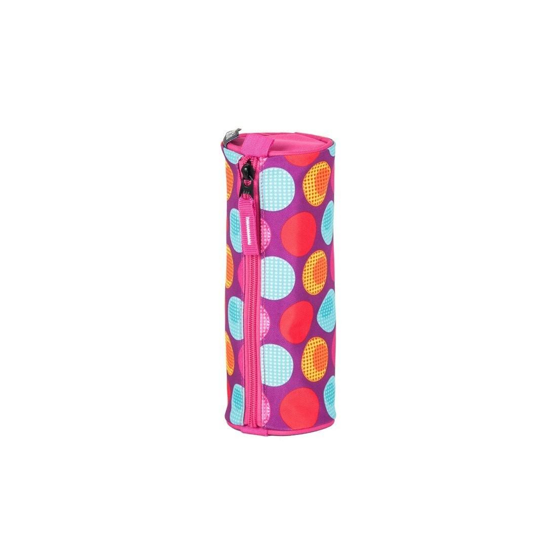 1041c6281ff9d Piórnik tuba Paso Unique Pink Spot - kolorowe kropki - plecak-tornister.pl