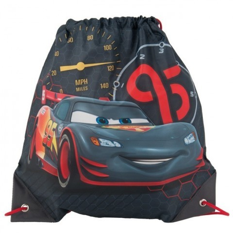 Worek na obuwie Cars McQueen szaro-czarny