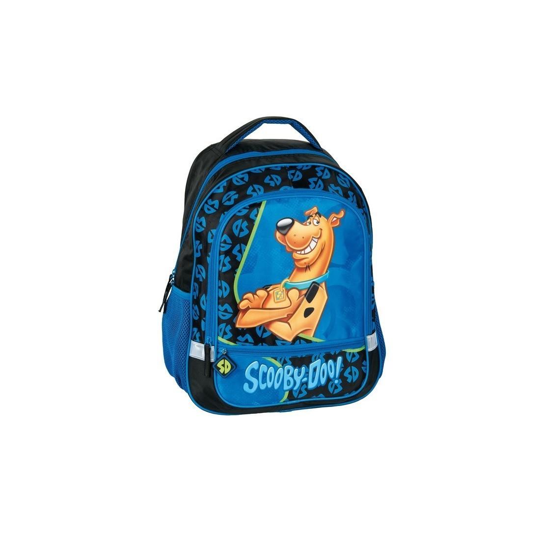 bc4d89bf81a45 Plecak szkolny Scooby-Doo niebieski - plecak-tornister.pl