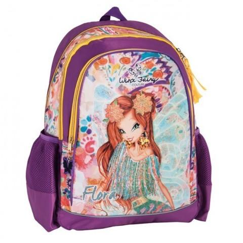Plecak szkolny Klub Winx - fioletowy