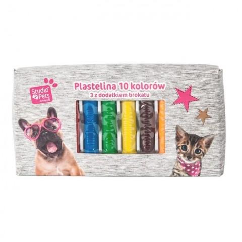 Plastelina Studio Pet's z psem i kotem