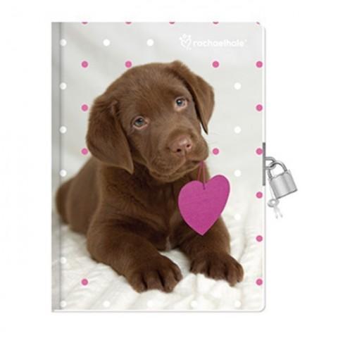 Pachnący pamiętnik Rachael Hale brązowy labrador