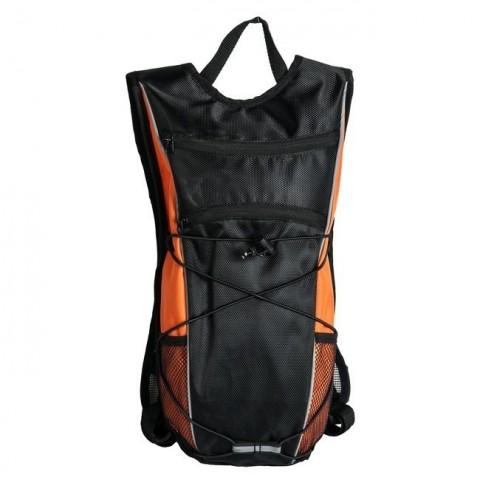 Plecak lekki rowerowy / na rower Paso - czarno - pomarańczowy