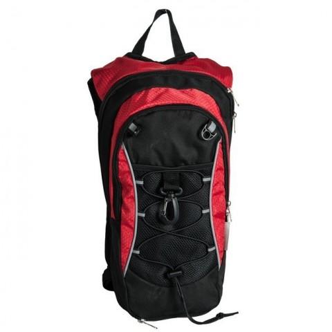 Plecak lekki rowerowy / na rower Paso - czarno-czerwony