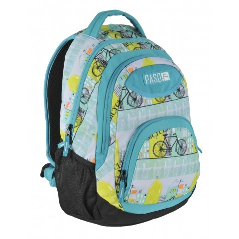Plecak młodzieżowy Paso Unique Bicycle rowery