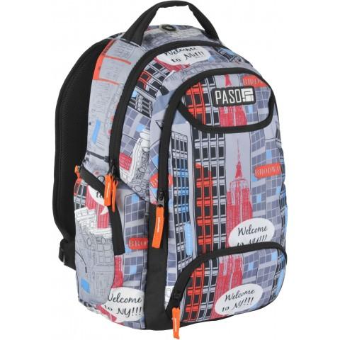 Plecak młodzieżowy Paso Unique New York - Nowy Jork