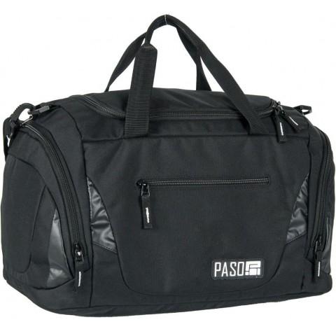 Torba sportowa / fitness Paso Unique Black kolor czarny