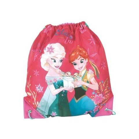 Worek szkolny, na WF Kraina LoduFrozen Anna i Elsa różowy