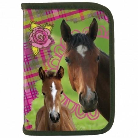 Piórnik Bez Wyposażenia Love Horses Konie