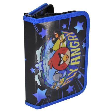 Piórnik z Wyposażeniem Angry Birds Niebieski