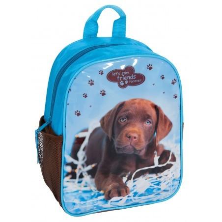 Plecaczek Rachael Hale niebieski z labradorem