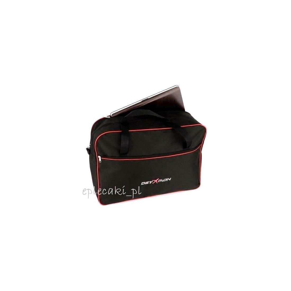Torba - bagaż podręczny Ryanair 55x40x20cm + kieszeń na leptop - czerwona