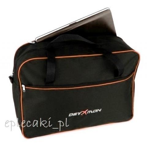 Torba - bagaż podręczny Ryanair 55x40x20cm + kieszeń na leptop - pomarańczowa