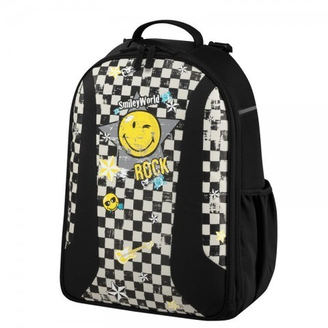 PLECAK be.bag AIRGO SMILEY WORLD KRATKA UŚMIECH BUŹKA ROCK