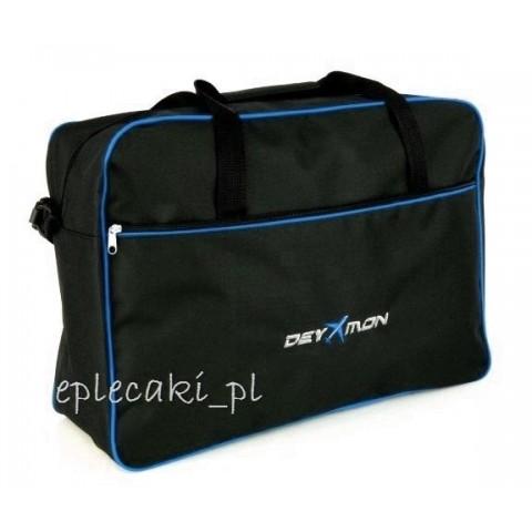 Torba - bagaż podręczny Ryanair 55x40x20cm - niebieska lamówka
