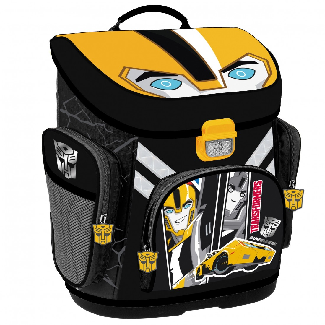 ZESTAW Tornister Szkolny Transformers Bumblebee Supermocni - plecak-tornister.pl