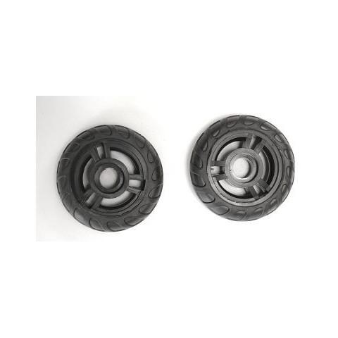 Kółka z miękkiej gumy do plecaka na kółkach Coolpack