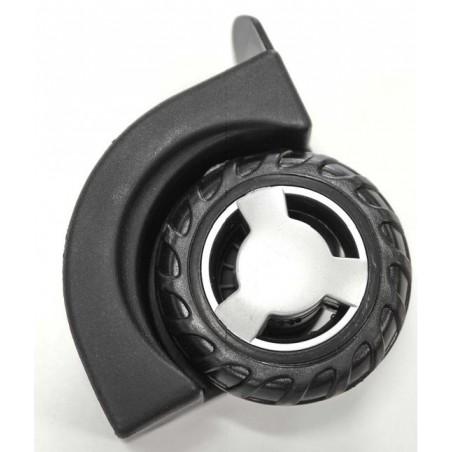 Kółko z twardej gumy zintegrowane z zewnętrzną obudową do plecaka na kółkach Coolpack JUNIOR
