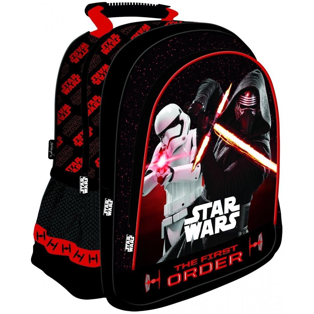 62aaeacae4df3 Plecak szkolny Star Wars Kylo Ren czarny dla chłopca - plecak ...