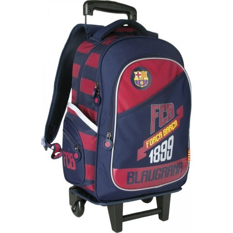 Plecak szkolny na kółkach FC Barcelona FC-79 dla chłopca