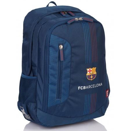 Plecak młodzieżowy FC Barcelona FC-173 granatowy piłkarski