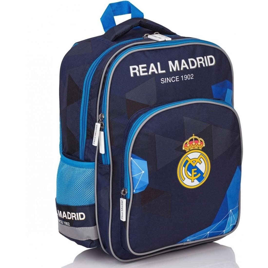 Plecak szkolny Real Madryt RM-71 do klas 1-3 dla chłopca