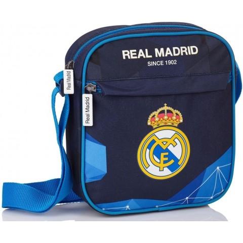 Torebka na ramię Real Madryt - ciemnoniebieska RM-75 dla kibica
