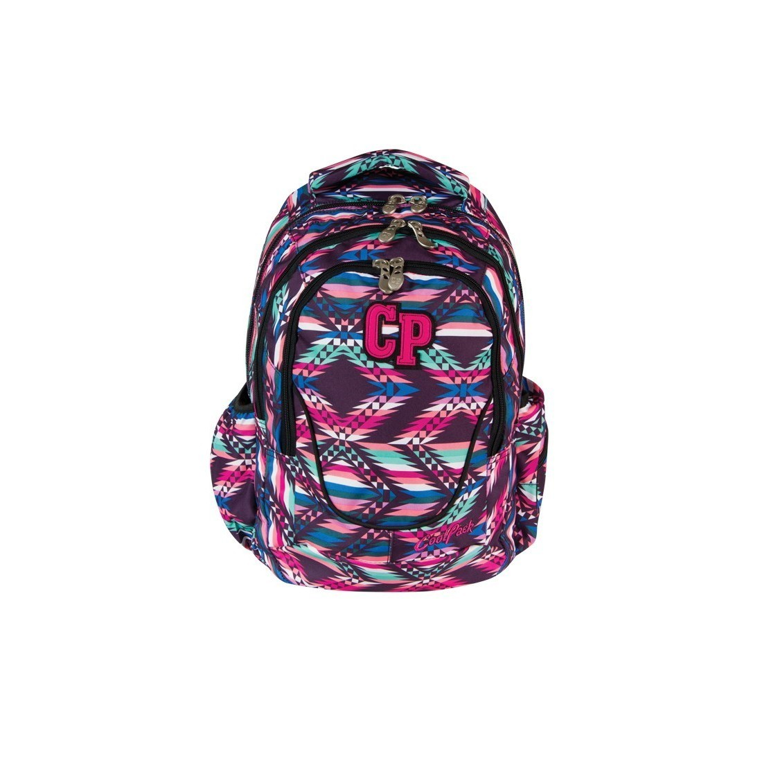 PLECAK MŁODZIEŻOWY COOLPACK SIMPLE PINK MEXICO CP 271 - plecak-tornister.pl