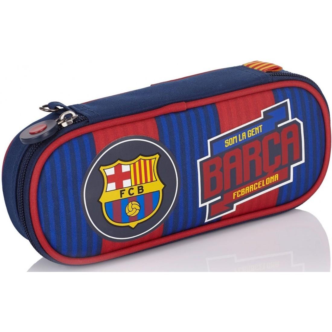 Piórnik szkolny / etui 1-komorowe FC Barcelona FC-139 dla kibica
