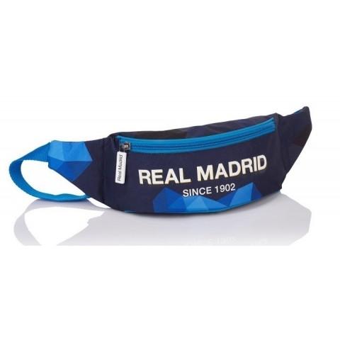 Saszetka na pas nerka Real Madryt ciemnoniebieska