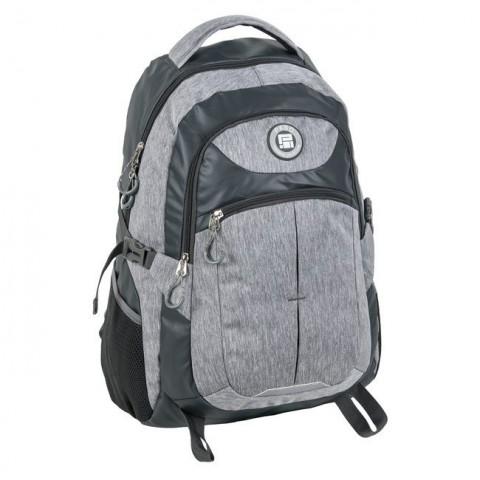 Plecak młodzieżowy Paso szary melanż na laptop