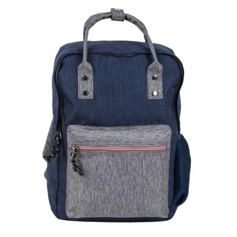 Plecak Paso vintage retro niebieski