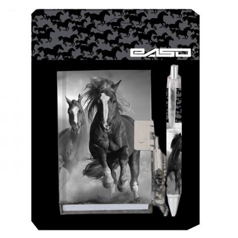 Zestaw pamiętnik z długopisem Paso Horse