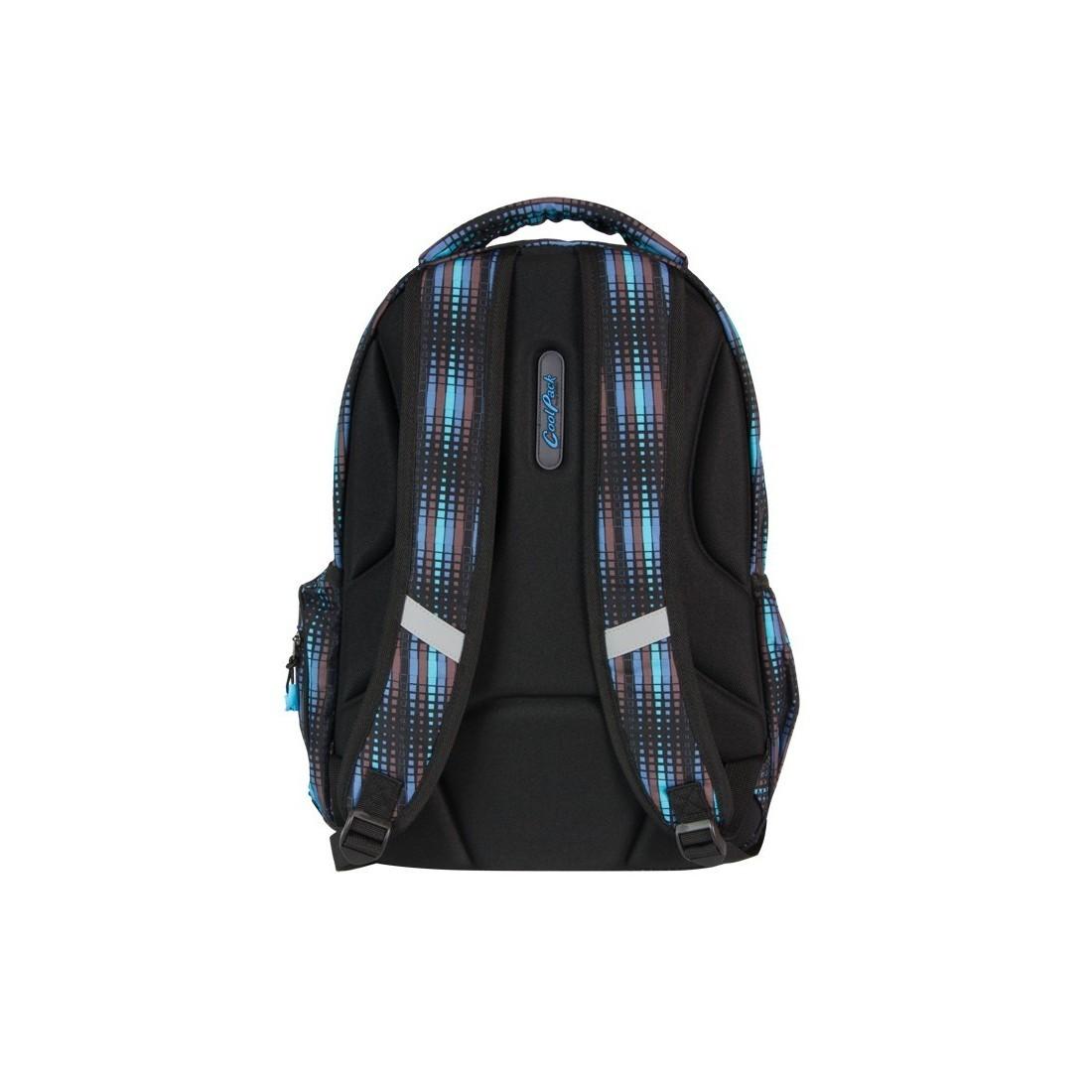 PLECAK MŁODZIEŻOWY COOLPACK BREAK BLUE FLASH CP 230 - plecak-tornister.pl