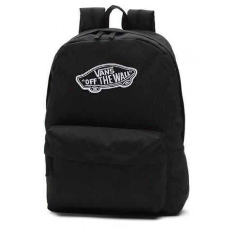 Plecak VANS WM Realm Black czarny z deskorolką
