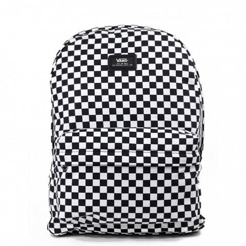 Plecak VANS Old Skool II Black/White Check czarno-biały