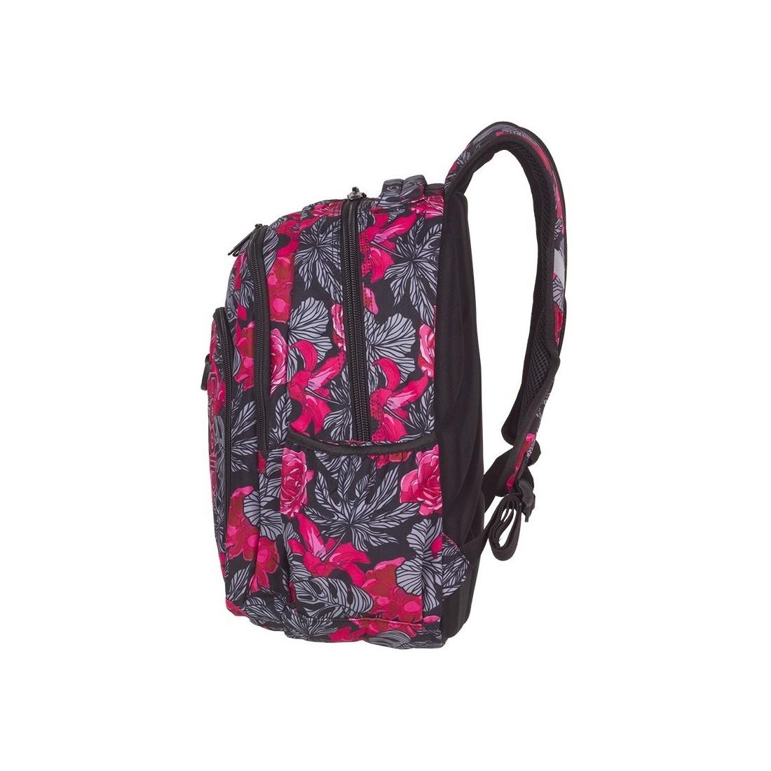 897d4bc7fccfd ... Plecak szkolny CoolPack CP STRIKE RED & BLACK FLOWERS czerwone  hiszpańskie róże - A241 + GRATIS ...