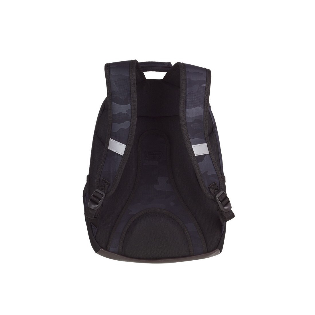 Plecak szkolny CoolPack CP UNIT CAMO BLACK czarne moro anatomicznie profilowane plecy - A560