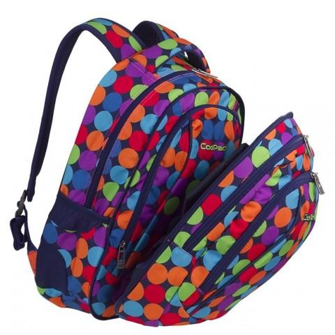 5f6bfbddaa70f Plecak szkolny CoolPack CP COMBO BUBBLE SHOOTER kolorowe kulki - 2w1 - A493