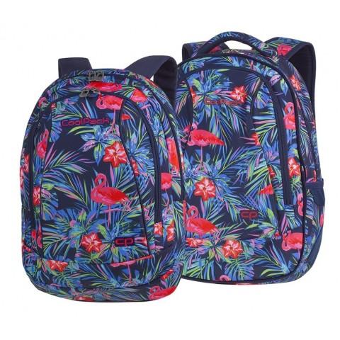Plecak szkolny CoolPack CP COMBO PINK FLAMINGO flamingi - 2w1 - A481
