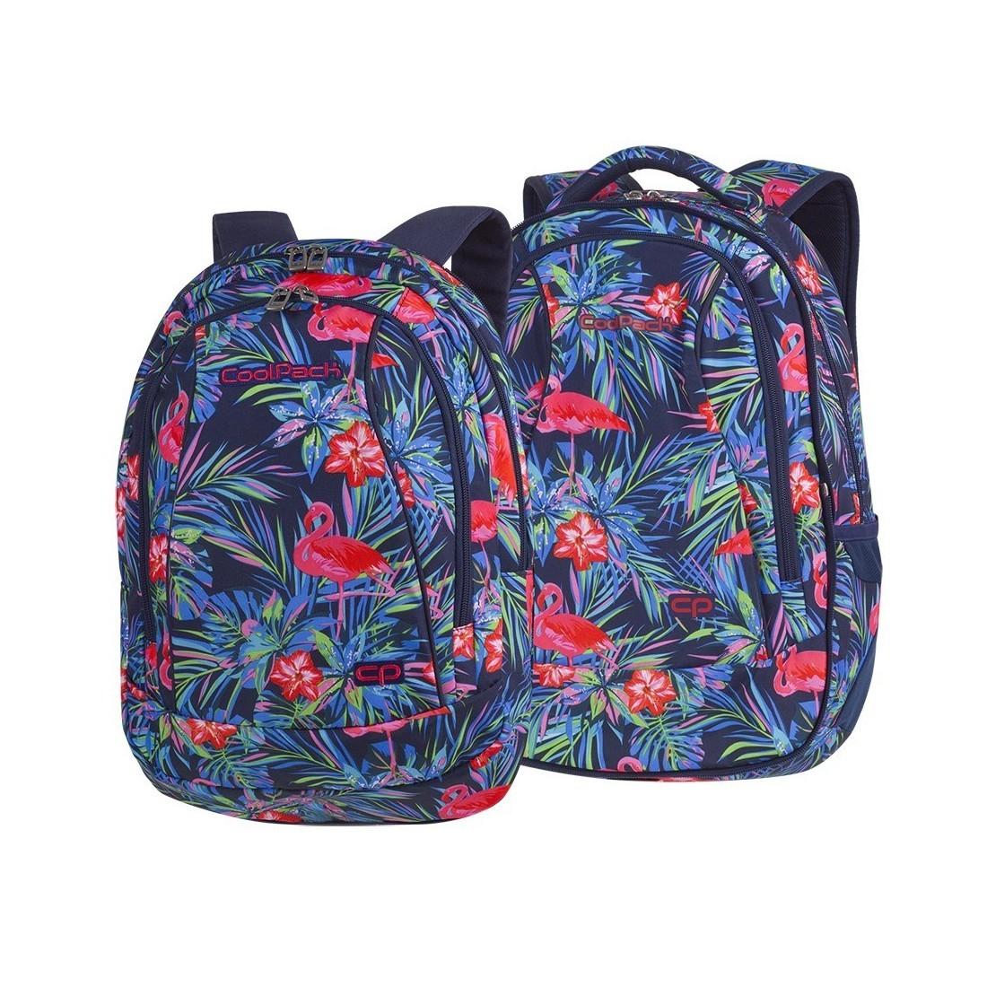 a29783f2a3a84 Plecak szkolny CoolPack CP Combo Pink Flamingo - 2w1 dla dziewczyn ...