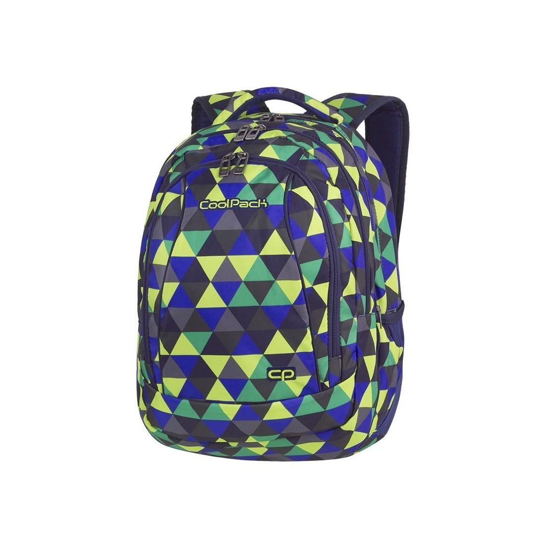 Plecak szkolny CoolPack CP Combo Prism Illusion 2w1 dla młodzieży - plecak-tornister.pl